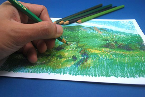 puzzle cut paper make draw