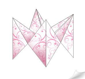 crafts origami paper teller fortune