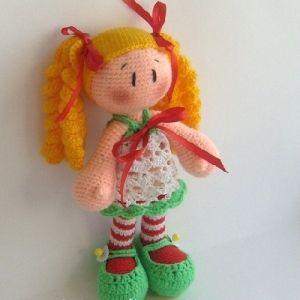 dolls goods textile toy crochet