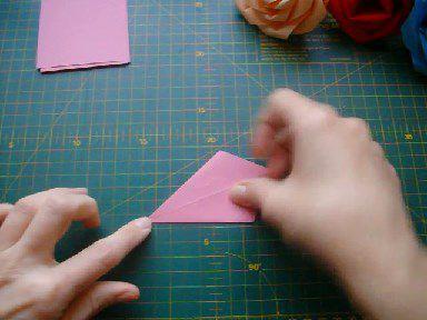 crafts simple paper rose flower