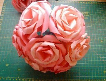 flower rose paper crafts simple