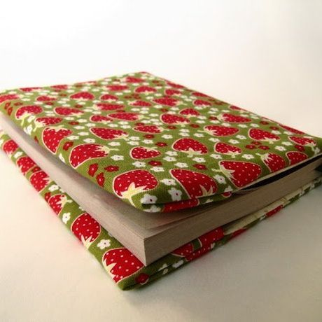 book sew textile cover goods
