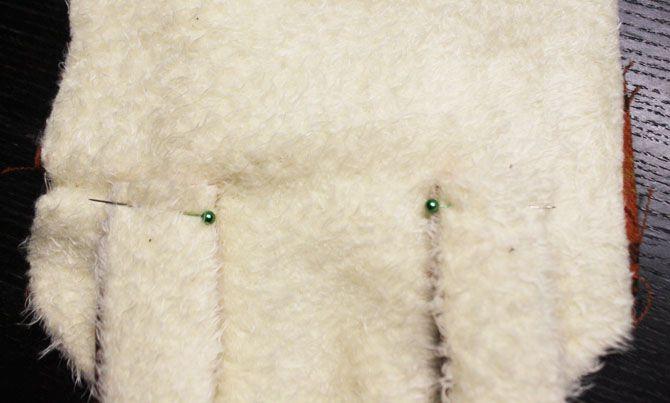 autumn scarf fox sewing diy handmade fabric