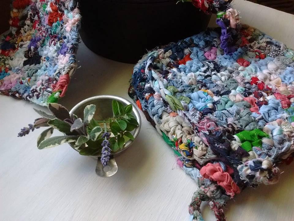 accessories crocheted kitchen potholders crafts rural