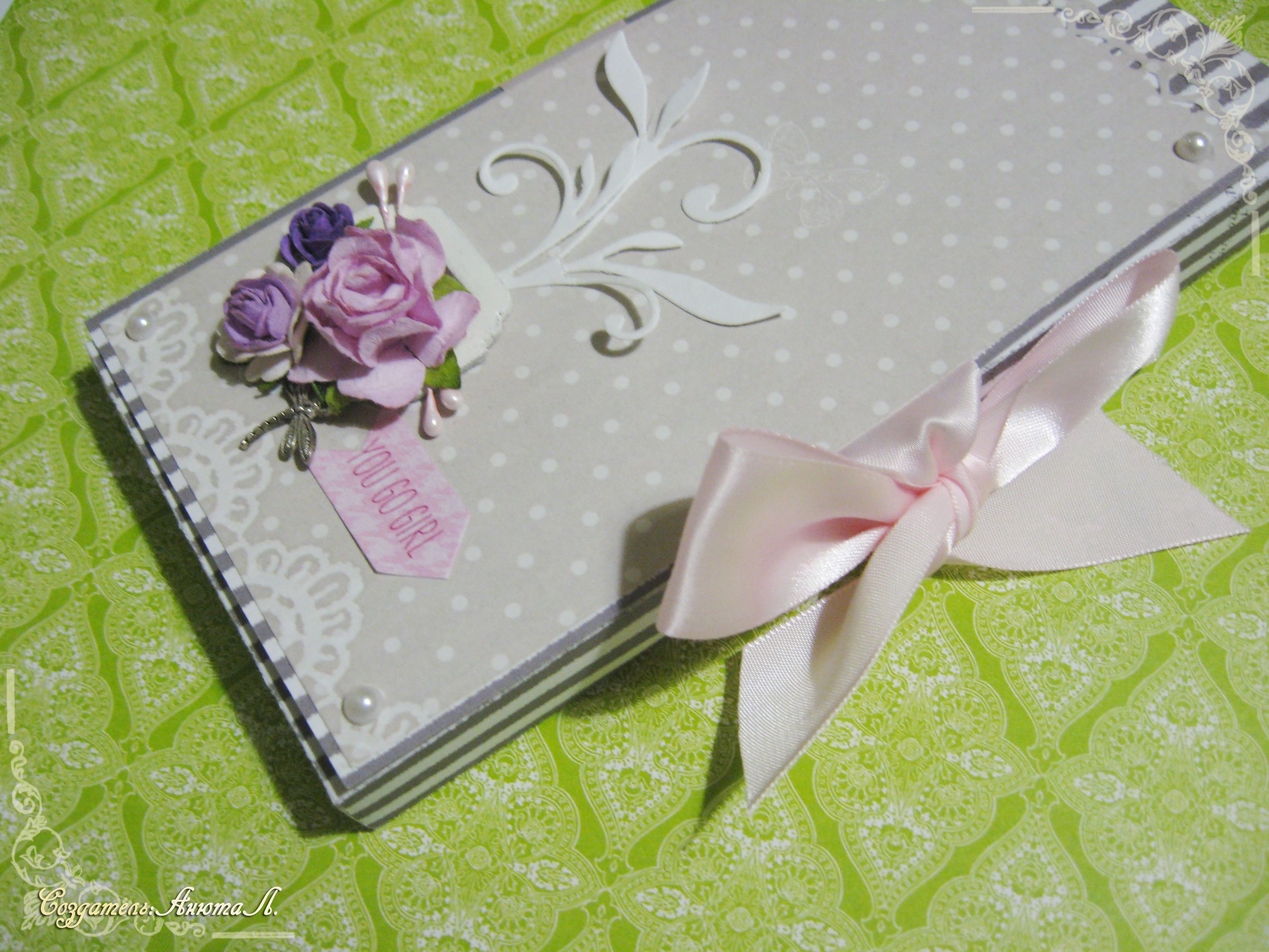 box pink grey paper chocolate