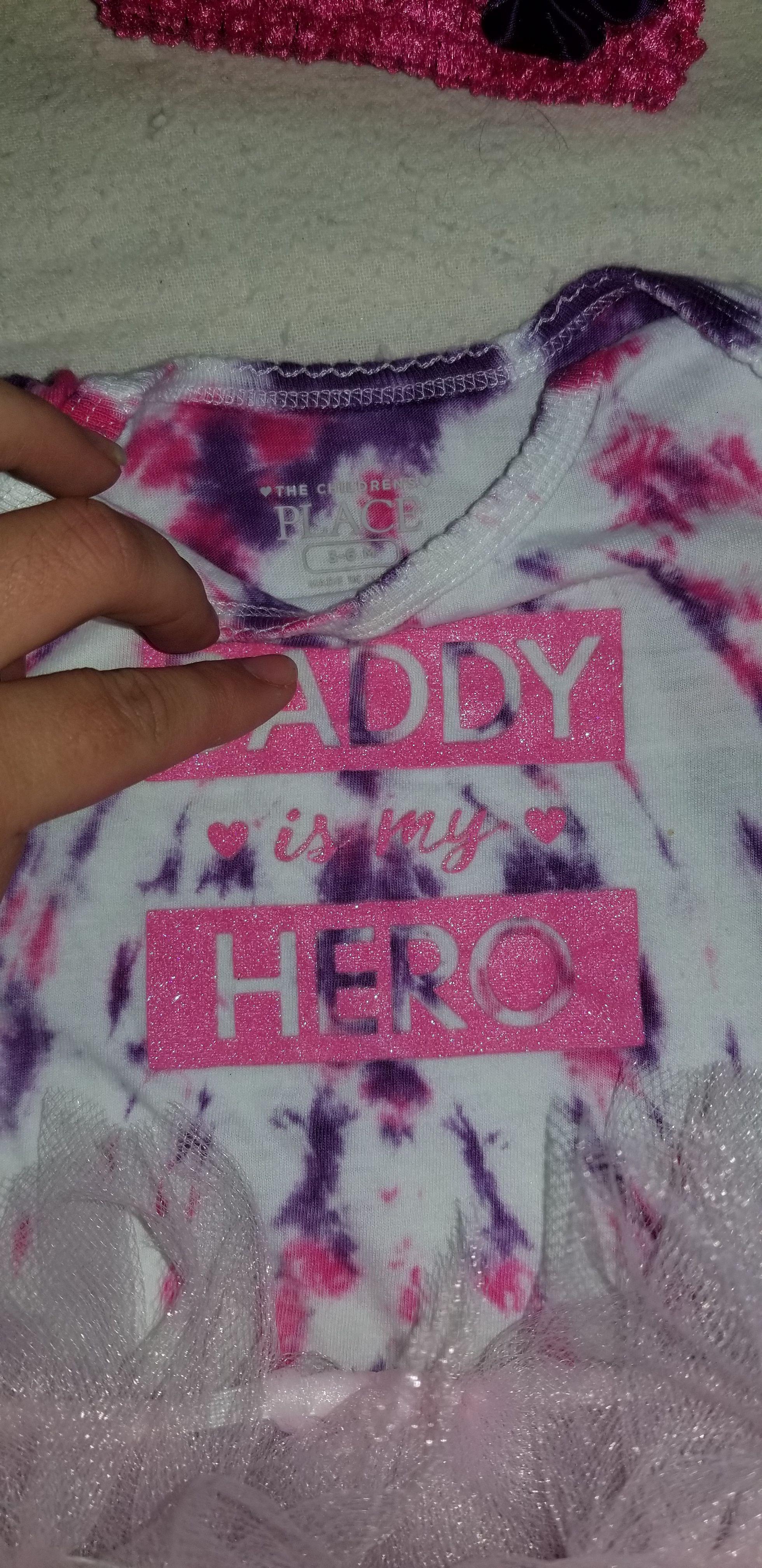 children tutu pink tie place handmade dye purple