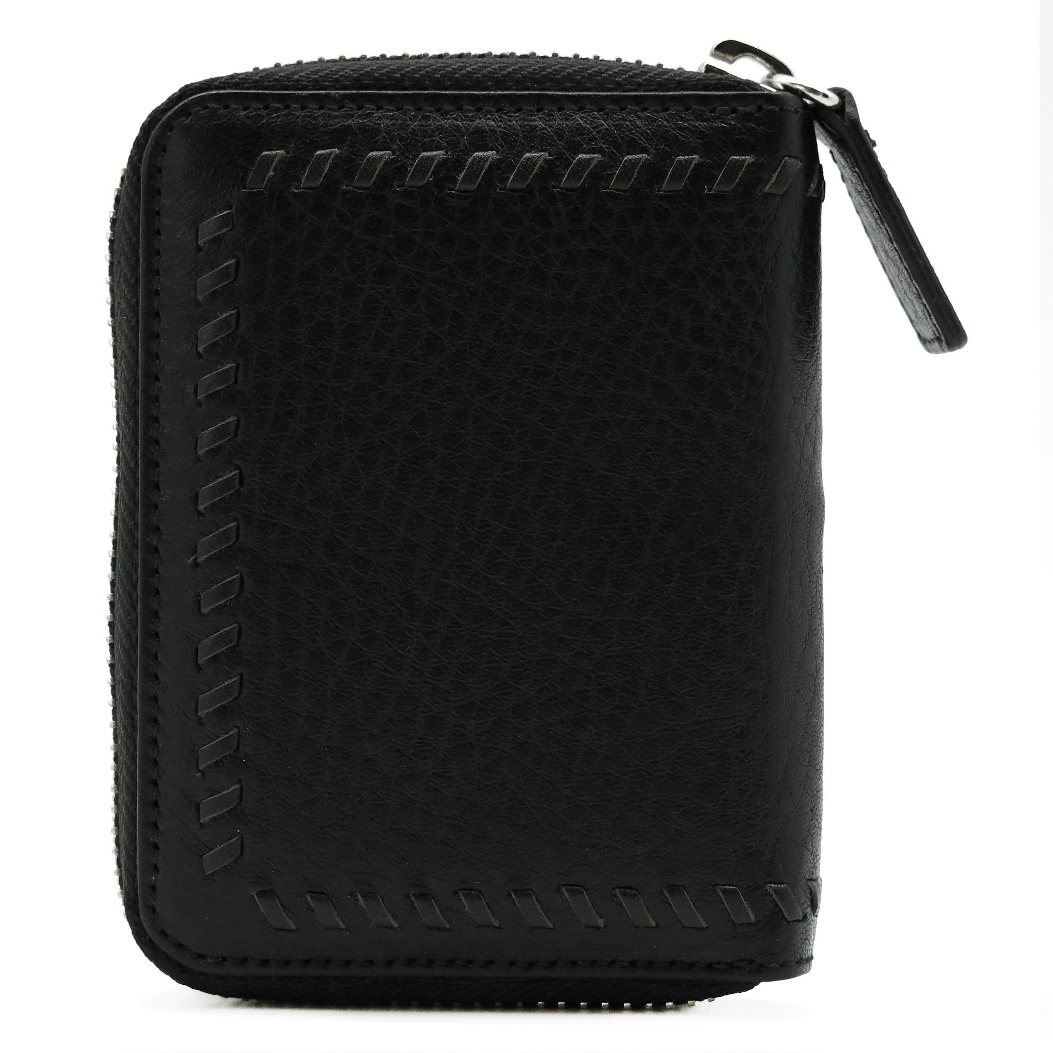 handmade leather accessories cardholder black