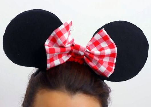 minnie ears make mouse headband