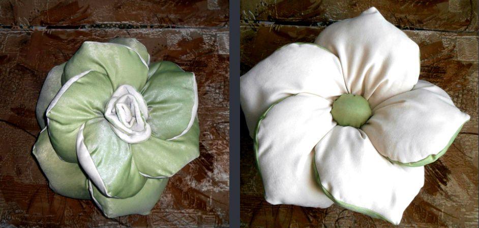 handmade gift rose cushion originalgift customized