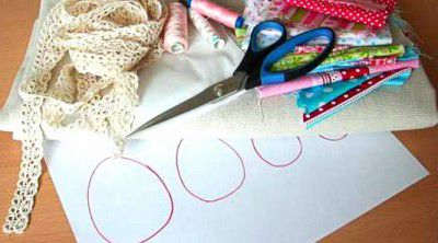 tablecloth goods instruction round textile make