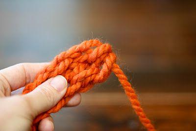 goods finger crochet textile thread