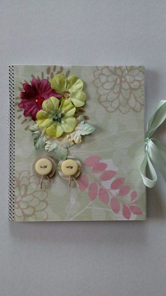 photobook photo flowers handmade