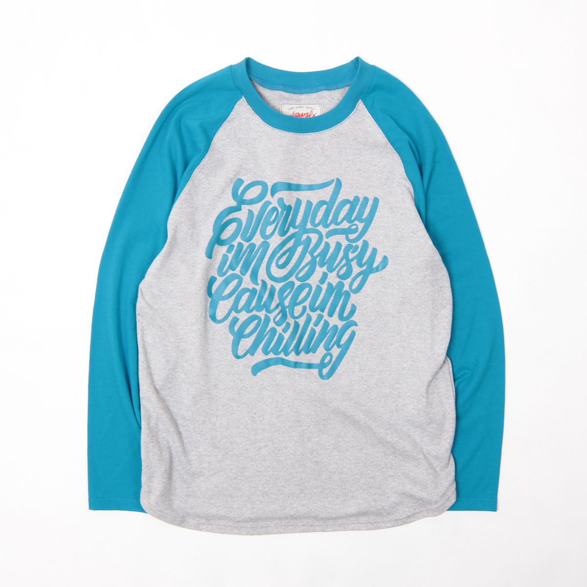 fashion cotton clothes longsleeve blue