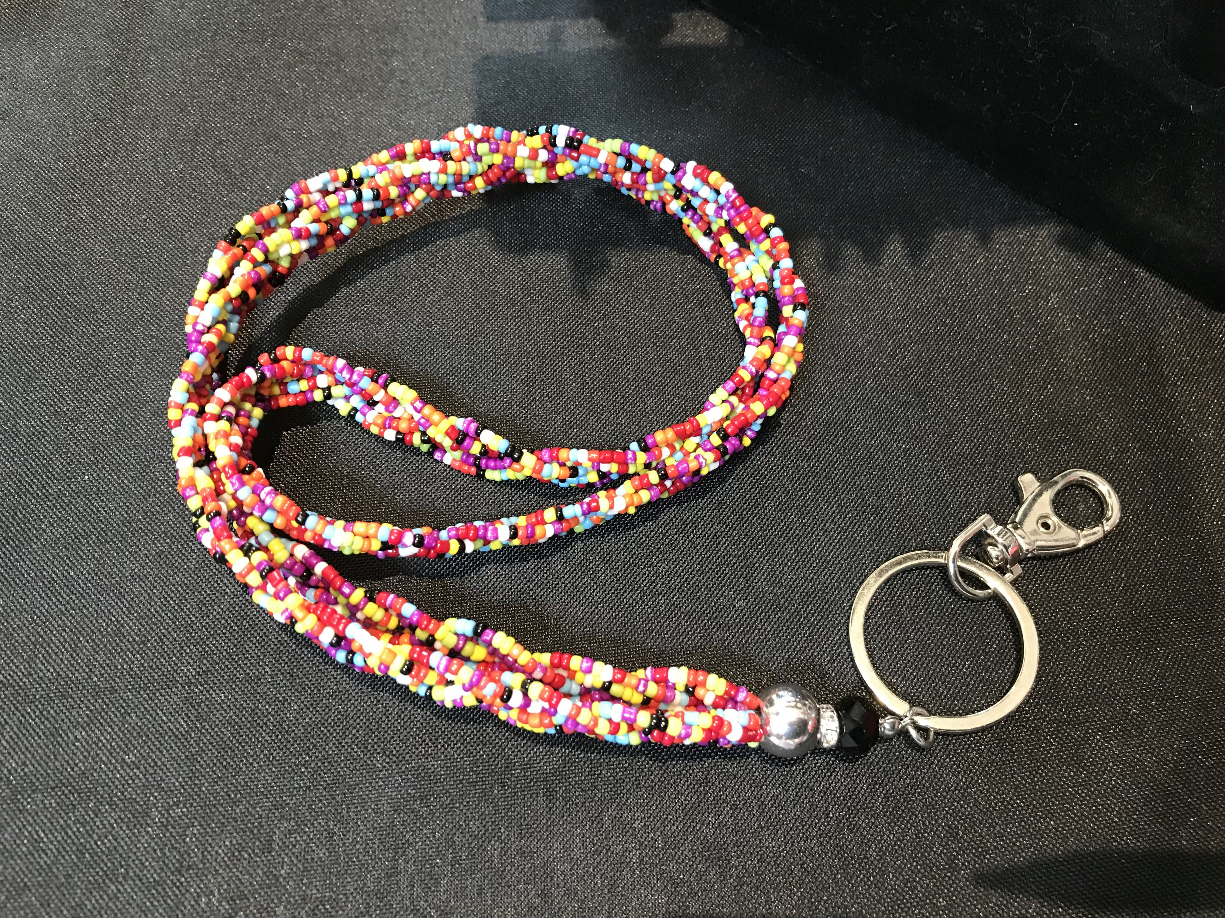 crystals colorbeads keychains gemstones holdallkeys fitforall beadedlanyards keyrings