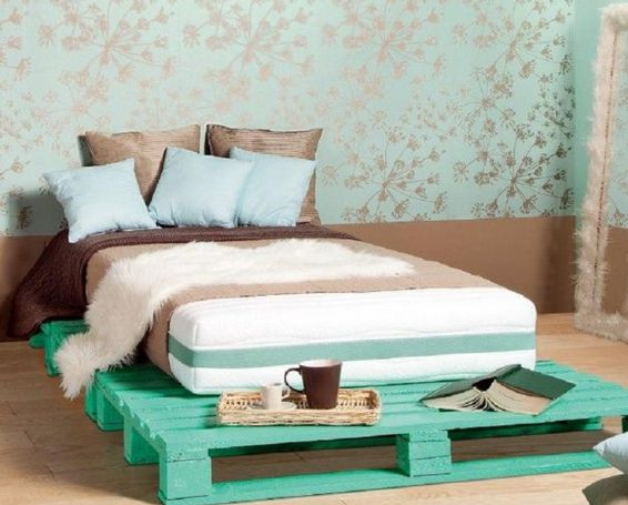 bed pallet furniture wood making