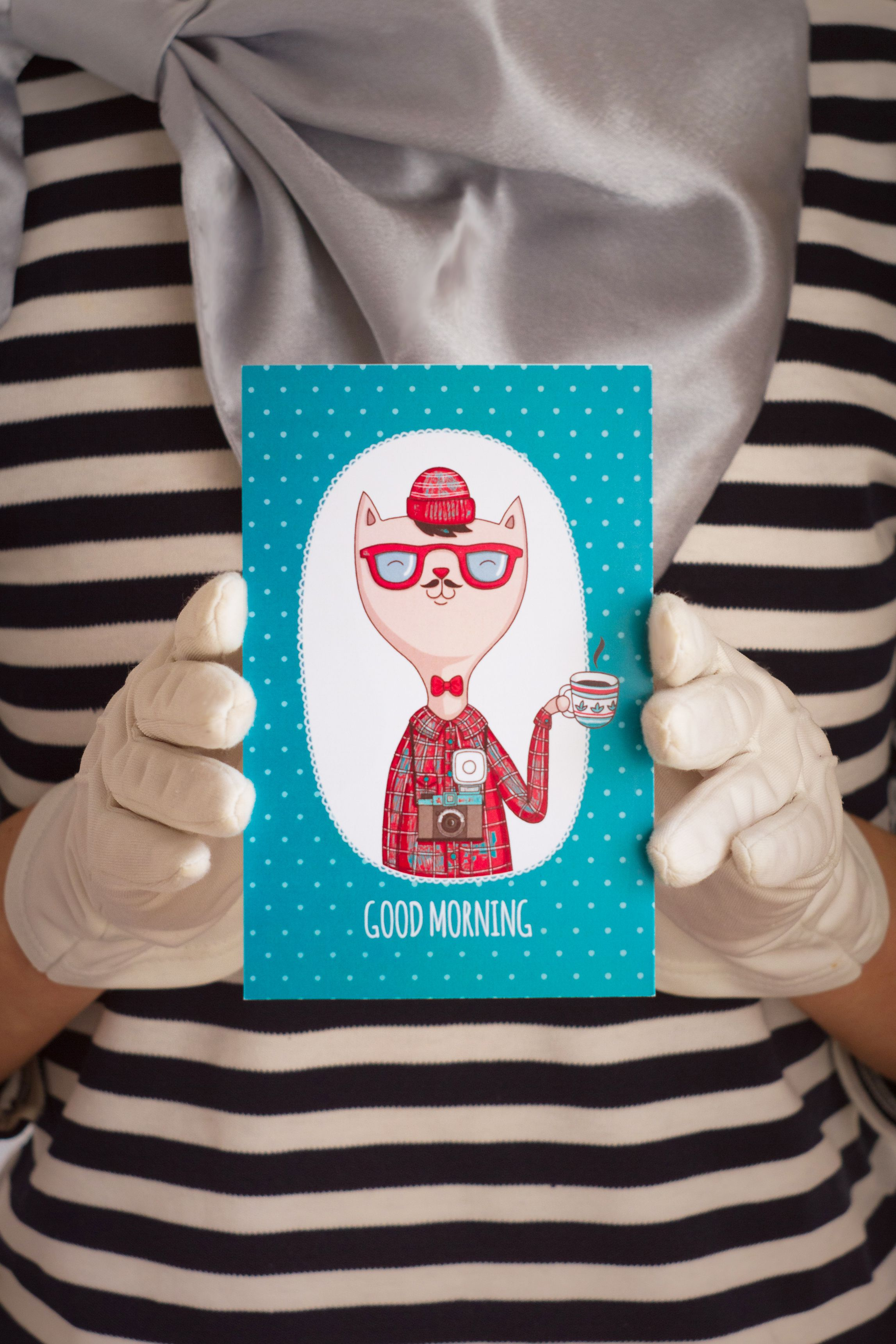 goodmorning открытка знаквнимания подарок сюрприз