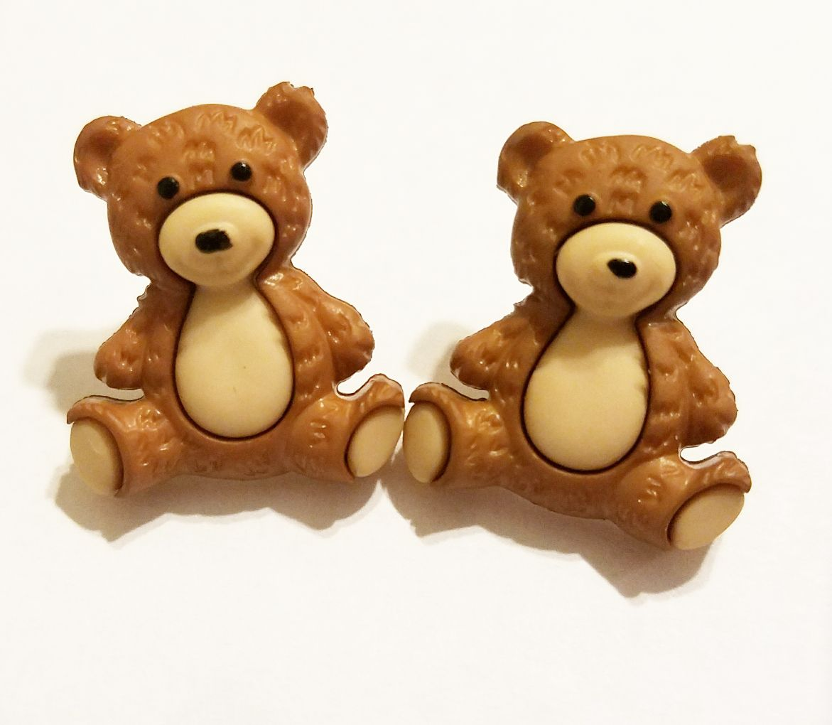 earrings jewelry kriszcreations uniquegifts teddybears