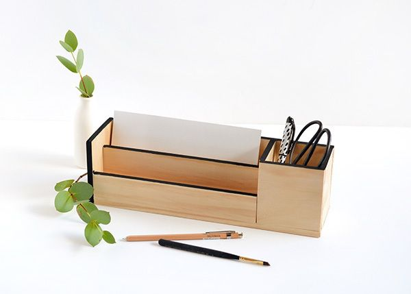 wooden wood handicraft diy style cool office decor