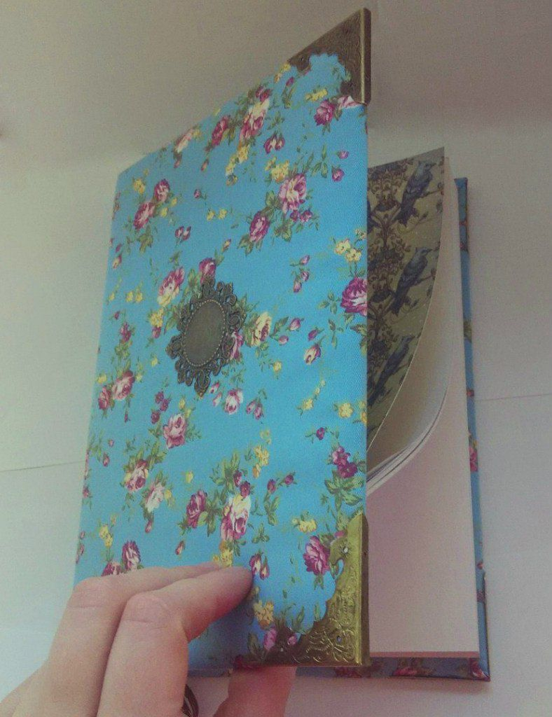 flowers softbook girls notebook handmade