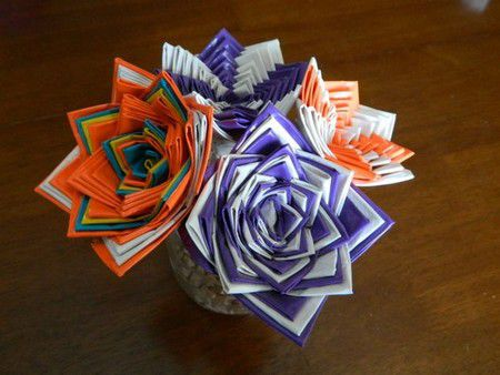 flowers duct tape lesson gradually