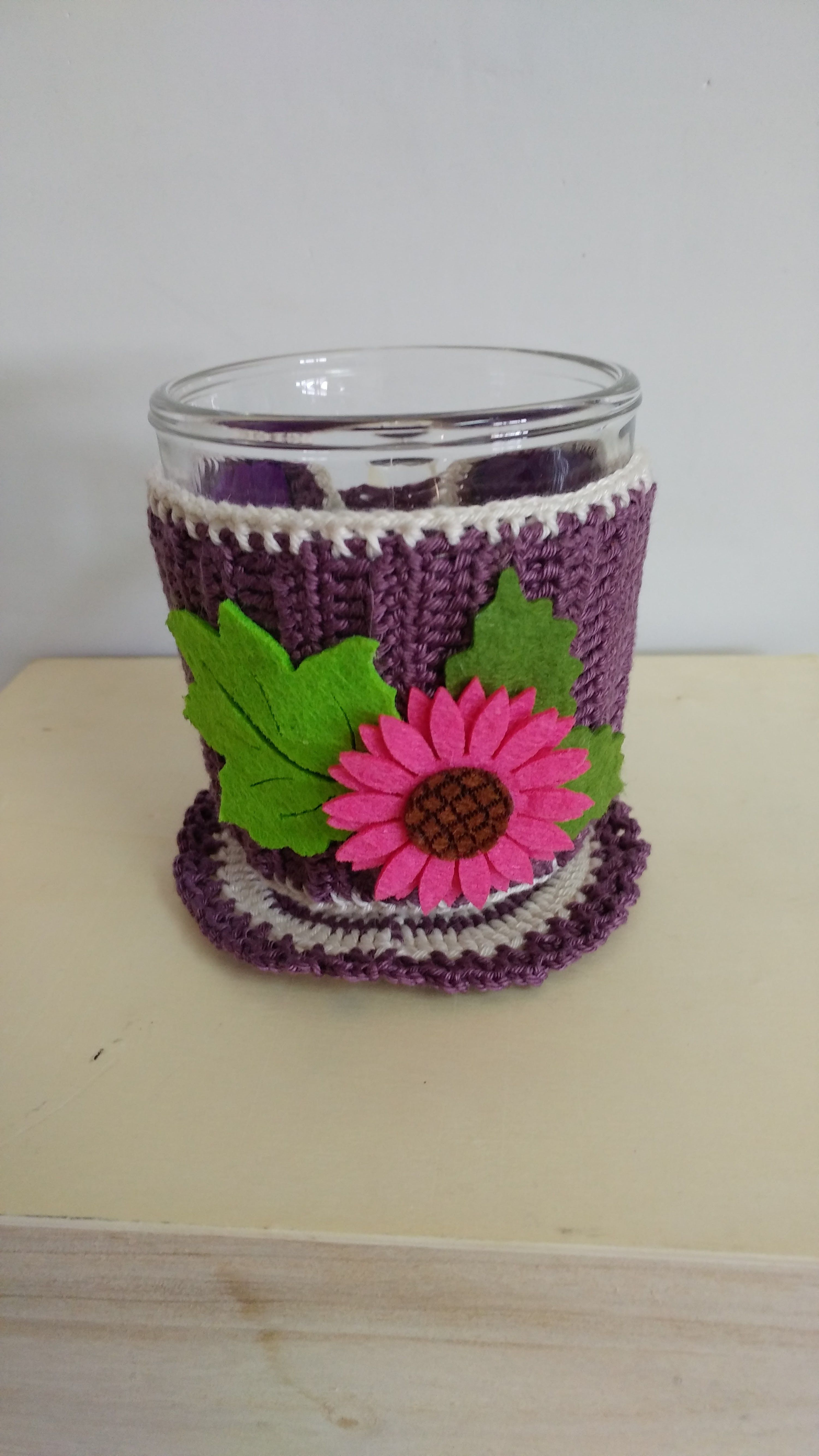 beverages stocking mug christmas coaster hot sweater crochet cover cozy