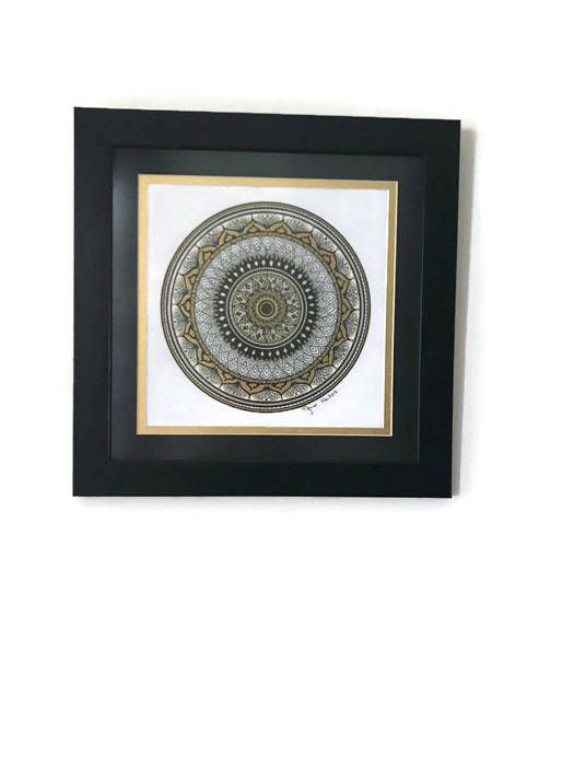 yoga mandala hangings meditation decor boho wall home drawing living zen décor art