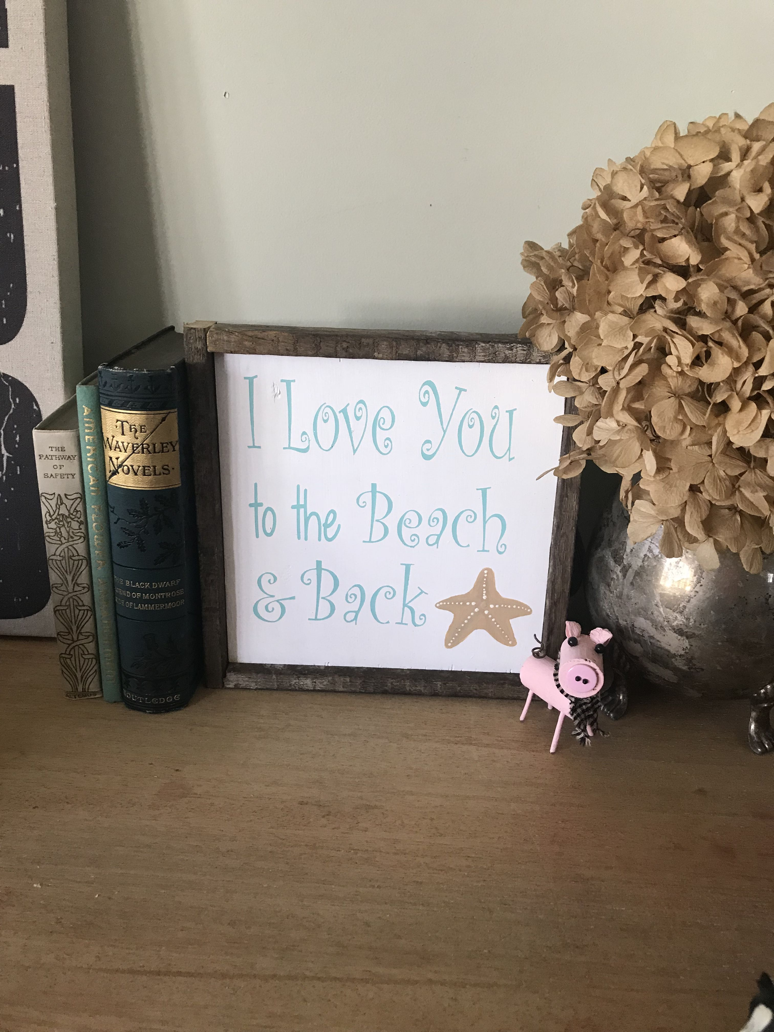 shore sign you beach and gift housewarming back house summer the starfish love
