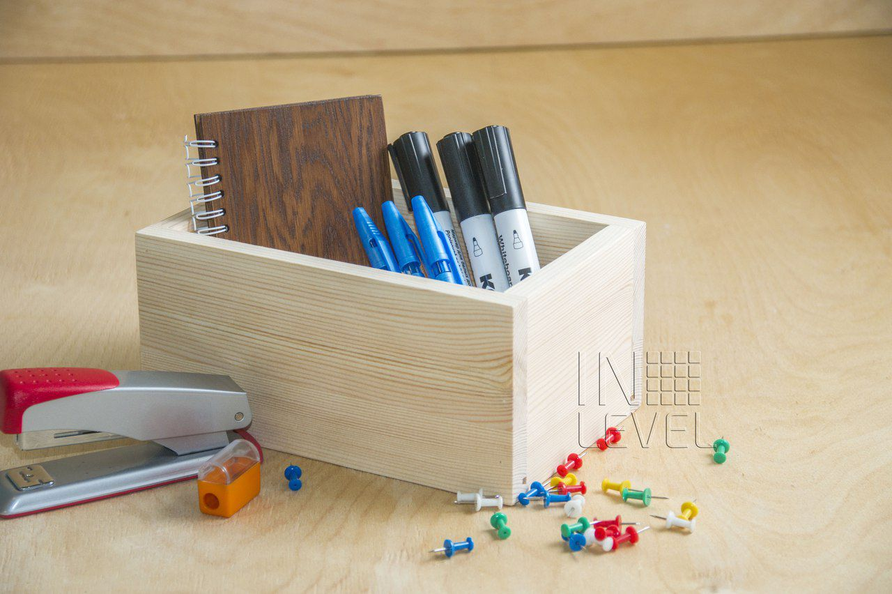 lariks organizer business wood office