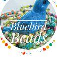 Bluebird beads