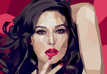 Custom Geometric Portrait Illustrated From Your Photos