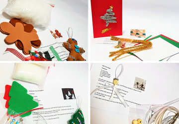 Christmas Craft DIY Packs - 12 Designs Available