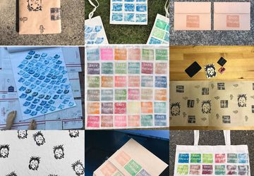 Stamp Making & Letter Writing