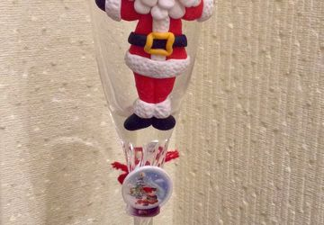 "New year glass ""Santa Claus"""