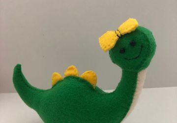 Make Your Own Dinosaur // DIY Sewing Kit