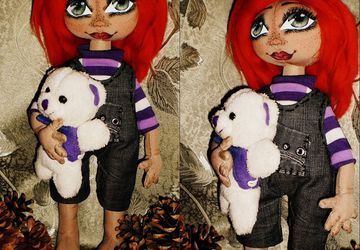 Ginger, the interior doll