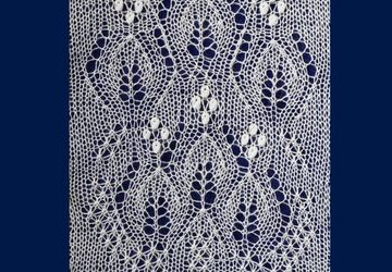 10 Beautiful Lace Patterns - Flowers and Trees