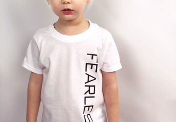 Fearless T-Shirt • Unisex Kids Clothing • Fearless T-Shirt for Boys and Girls • Multiple colors available!