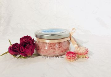 Rose Salt Body Scrub