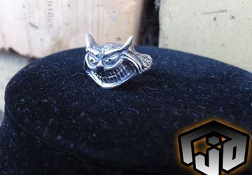 Cheshire Cat Jewelry - Alice in Wonderland - Cheshire Cat Ring - Alice in Wonderland Jewelry - Cat Ring - Cat Jewelry - Fantasy Jewelry