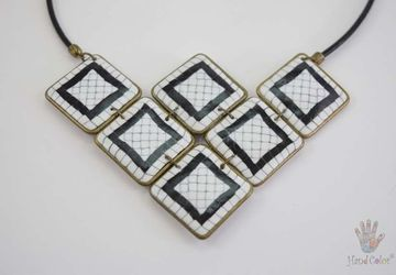 Portuguese Cobblestone Necklace - CSDC-1-28