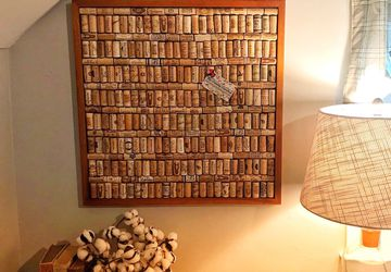 Wine Cork Memo Board