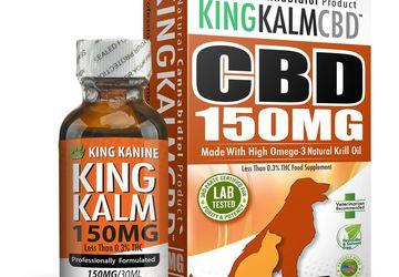 King Kanine CBD for Dogs | 150 mg Medium Size Pet Formula