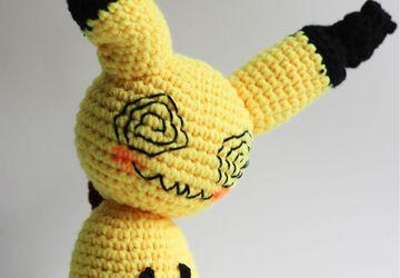 Crochet pattern Pachirisu | Pokemon crochet pattern, Pokemon ... | 250x360