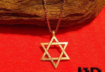 Star of David - David Star Necklace - Silver David Star - Heksagram Necklace - Star Of David Pendant - Jewish Jewelry - Jewish Symbols