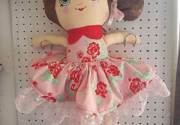 Handmade  custom rag dolls