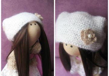 "A textile doll ""Gerda"""