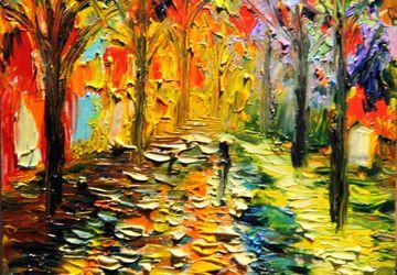 An autumn landscape