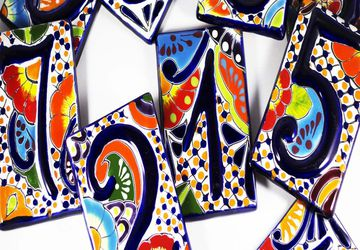 Talavera Tile House Number