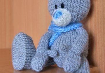 Teddy Bear in a scarf