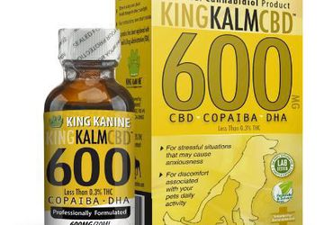 King Kanine CBD for Pets | 600 mg CBD with Copaiba Oil and Krill Oil